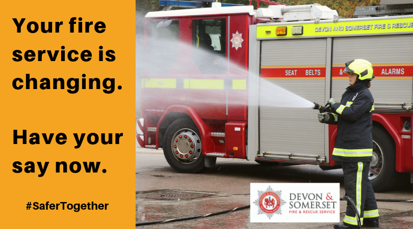Your fire service is changing take part in the consultation